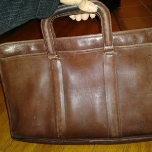 Vintage Coach briefcase 💫hard find💫